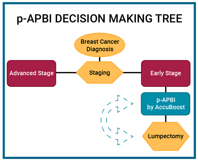 PreOperative APBI Decision Making Tree
